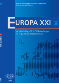 Accessible ESPON knowledge and its application in local and regional context