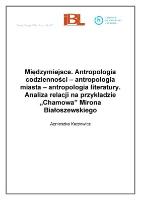 Of Scientific Institutes Międzymiejsce Antropologia