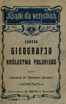 Krótka gieografja Królestwa Polskiego