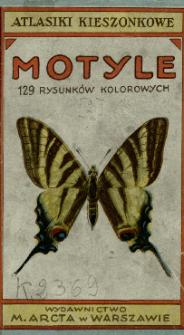 Motyle : 129 rysunków kolorowych