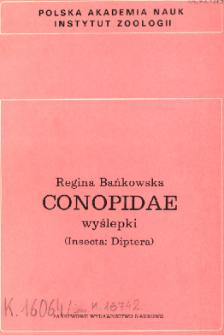 Conopidae - wyślepki (Insecta: Diptera)