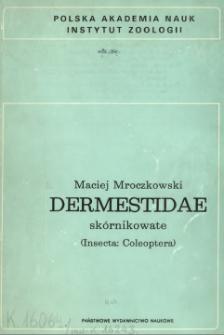 Dermestidae - skórnikowate (Insecta: Coleoptera)
