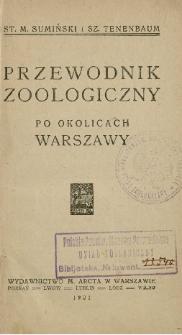 Przewodnik zoologiczny po okolicach Warszawy