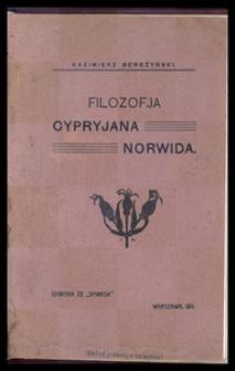 Filozofja Cypryjana Norwida