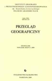 Przegląd Geograficzny T. 72 z. 3 (2000)