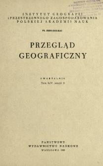 Przegląd Geograficzny T. 54 z. 3 (1982)