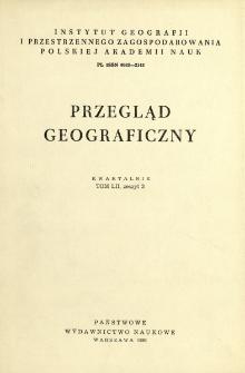 Przegląd Geograficzny T. 52 z. 3 (1980)