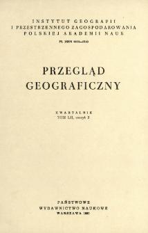 Przegląd Geograficzny T. 52 z. 2 (1980)