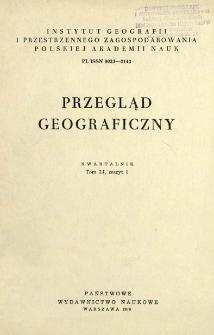 Przegląd Geograficzny T. 51 z. 1 (1979)