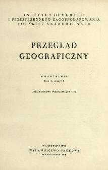 Przegląd Geograficzny T. 50 z. 2 (1978)