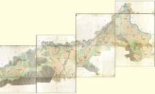 Uibersichts Plaene Weichsel Stromes und seines Innudations Gebietes von der schlesischen Graenze bis zur Ausmuindung des Dunajec Flusses