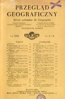 Przegląd Geograficzny = Revue Polonaise de Géographie = Polish Geographical Review