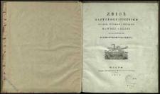Zbiór kart geograficznych, planów, widoków i medalów dawney Grecyi ściągających się do podróży młodego Anacharsysa