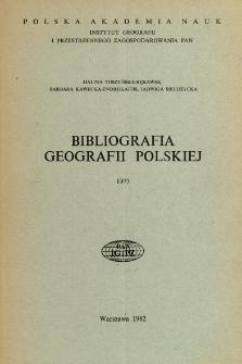 Bibliografia Geografii Polskiej 1977