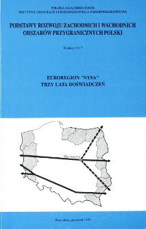 """Euroregion """"Nysa"""" : trzy lata doświadczeń"""