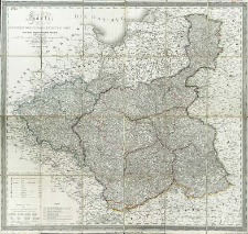 Karte von dem Königreich Pohlen, Gross-Herzogthum Posen und den angrenzenden Staaten in IV Sectionen