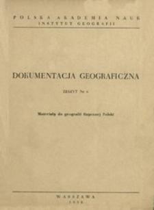 Materiały do geografii fizycznej Polski