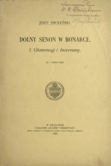 Dolny senon w Bonarce. 1, Głowonogi i Inoceramy
