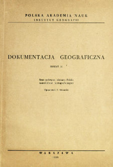 Stan pokrycia obszaru Polski materiałami kartograficznymi