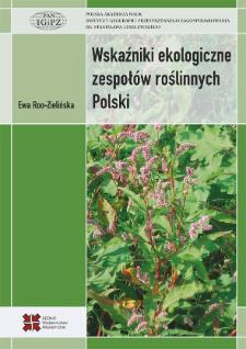 Wskaźniki ekologiczne zespołów roślinnych Polski