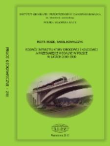 Rozwój infrastruktury drogowej i kolejowej a przesunięcie modalne w Polsce w latach 2000-2010 = Development of road and railway infrastructure in Poland versus modal shift in the years 2000-2010