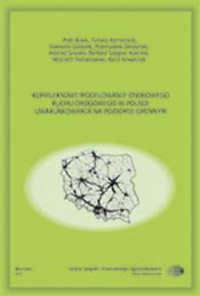 Kompleksowe modelowanie osobowego ruchu drogowego w Polsce : uwarunkowania na poziomie gminnym = Comprehensive modelling of passenger road traffic in Poland - the municipality level aspects