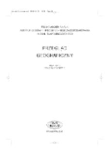 Przegląd Geograficzny T. 77 z. 1 (2005)