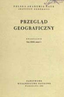 Przegląd Geograficzny T. 31 z. 1 (1959)