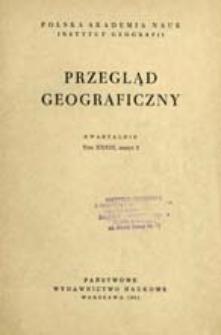 Przegląd Geograficzny T. 33 z. 2 (1961)
