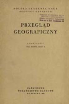 Przegląd Geograficzny T. 34 z. 2 (1962)