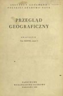Przegląd Geograficzny T. 38 z. 4 (1966)