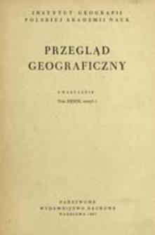 Przegląd Geograficzny T. 39 z. 1 (1967)