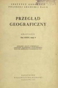 Przegląd Geograficzny T. 39 z. 4 (1967)
