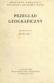 Przegląd Geograficzny T. 41 z. 2 (1969)