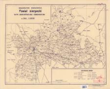 Powiat sierpecki, województwo warszawskie : mapa administracyjna i komunikacyjna w skali 1:100.000