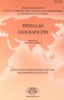 Przegląd Geograficzny T. 75 z.3 (2003)