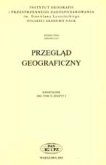 Przegląd Geograficzny T. 74 z. 2 (2002)