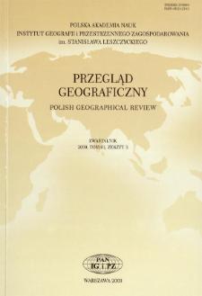 Przegląd Geograficzny T. 81 z. 3 (2009)
