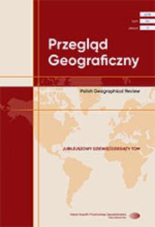 Przegląd Geograficzny T. 90 z. 3 (2018)