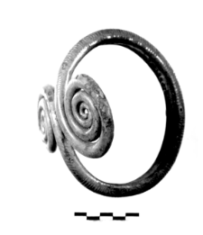 armlet with two spiral discs (Ludów Śląski) - metallographic analysis