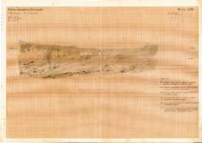 KZG, V 14 A, profil archeologiczny N wykopu