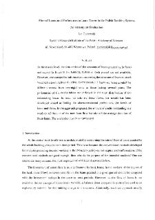 Flow of Loans and Preferences in Loan Terms in the Polish Banking System.An Attempt at Evaluation