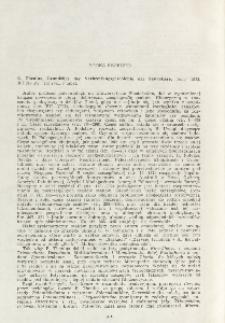 Book received. E. Thenius, 1972: Grundzüge der Verbreitungsgeschichte der Säugetiere. Jena, 345 pp