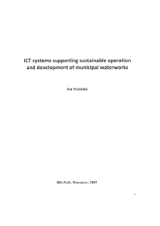ICT Systems Supporting Sustainable Operation and Development of Municipal Waterworks