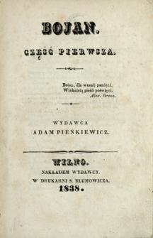 Bojan 1838 Cz.1