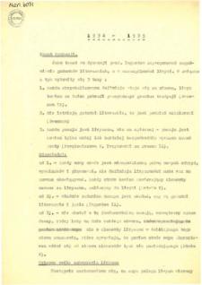Konwersatorium estetyczne : Protokoły z 18 posiedzeń (15 listopada 1934 - 27 czerwca 1935)