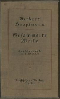 Gesammelte Werke : Volksausgabe in sechs Bänden. Bd. 6