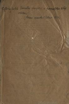 Gazeta polska z początku XVIII wieku