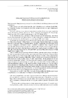 Dialektologia w pracach naukowych profesora Józefa Bubaka