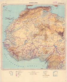 Afrika 1:5.000.000. Nordwest- Afrika